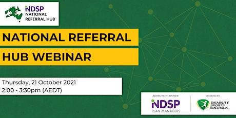 National Referral Hub Webinar tickets