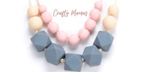 Crafty Mamas presents their Sensory Beaded Necklace Workshop with Coffee tickets
