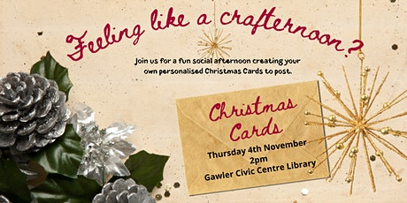 Crafternoon: Christmas Cards tickets