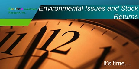 How Environmental Issues Impact Stock Returns tickets