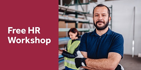Free HR Workshop: Setting up your Business for Success 2021- Glenfield tickets