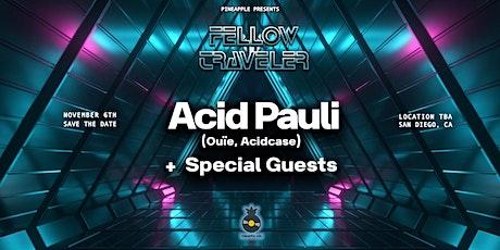 Acid Pauli x Pineapple Live tickets