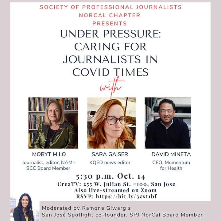 Under Pressure: Caring for Journalists in COVID Times image