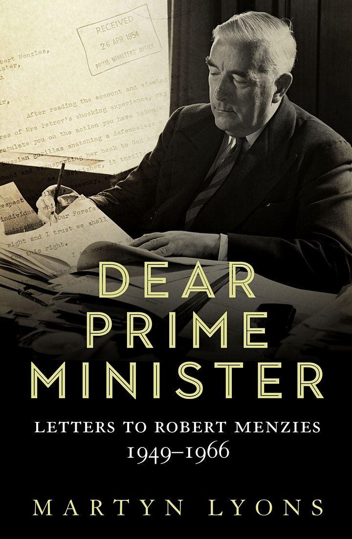 Dear Prime Minister: Letters to Robert Menzies, 1949-1966 image