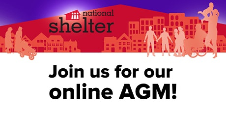 National Shelter AGM tickets