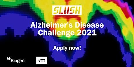 Alzheimer's Disease Challenge tickets