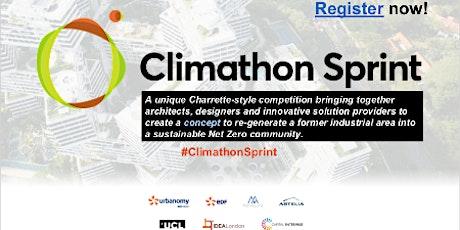 Climathon Sprint 2021 tickets