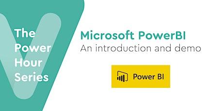 PowerBi Demo: transforming data into dashboard visuals & powerful analytics tickets