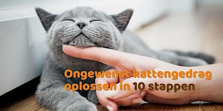 Ongewenst kattengedrag oplossen in 10 stappen tickets