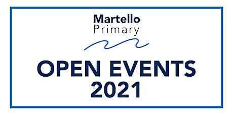 Martello Primary Open Days - Tuesday 9th November 2021 billets