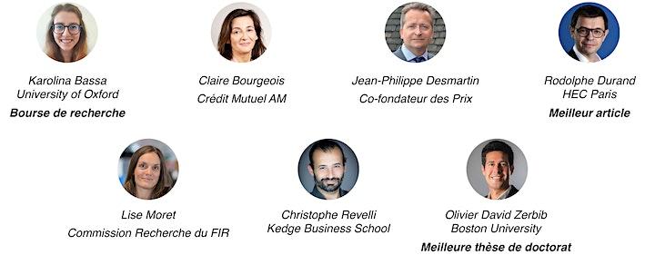 """Image pour Cérémonie de remise des ¨Prix FIR-PRI """"Finance & Développement durable"""""""