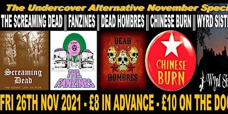 The Undercover Alternative November Special tickets