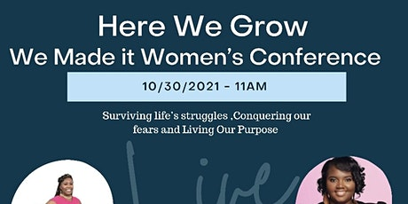 Here We Grow Women's Conference tickets