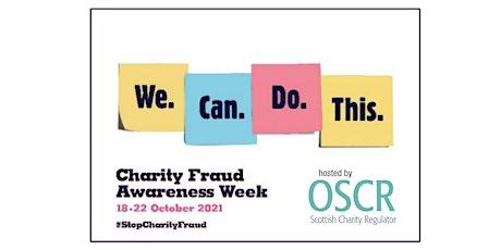 Charity Fraud Awareness tickets