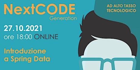 Introduzione a Spring Data -  Online biglietti