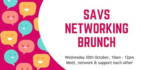 SAVS Networking Brunch tickets