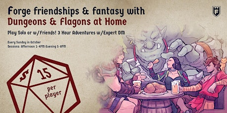 Dungeons & Flagons At Home tickets