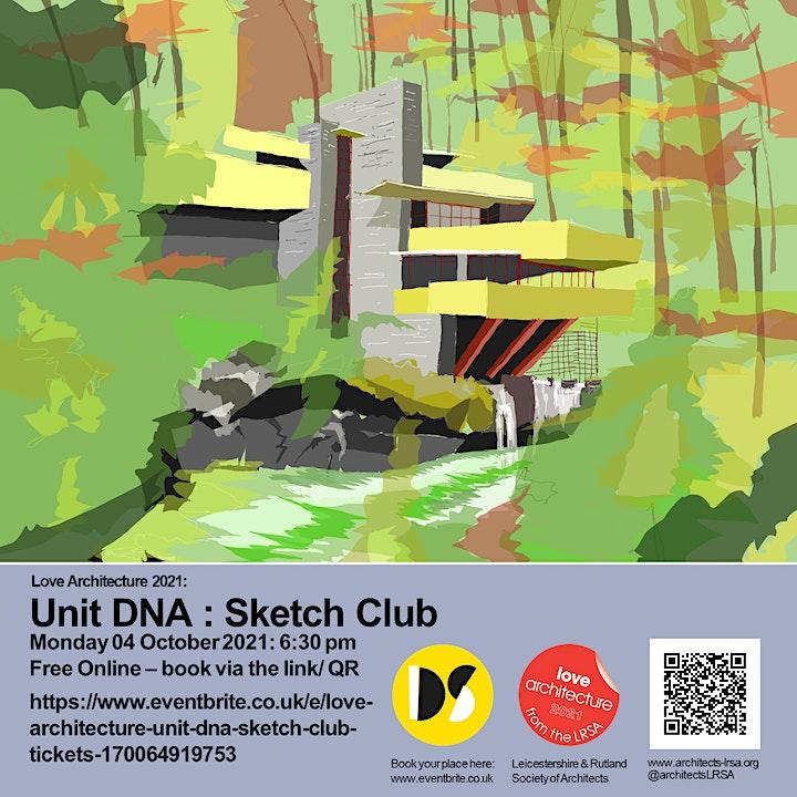 LOVE ARCHITECTURE / Unit DNA Sketch Club image
