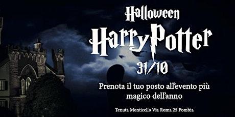 Halloween Harry Potter biglietti
