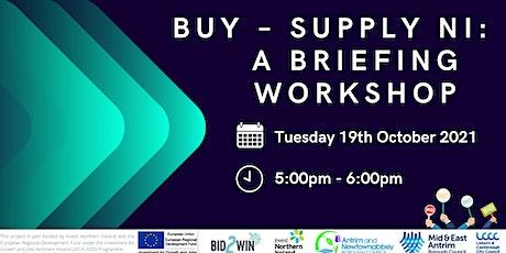 Buy – Supply NI: A Briefing Workshop tickets