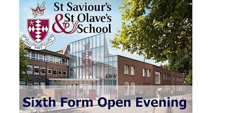 St Saviour's & St Olave's School  - Sixth Form Open Evening tickets