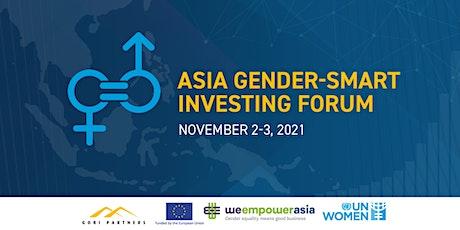 Asia Gender-Smart Investing Forum tickets