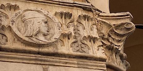 Capitelli e Battiporta . I portici di Bologna con Anna Brini biglietti