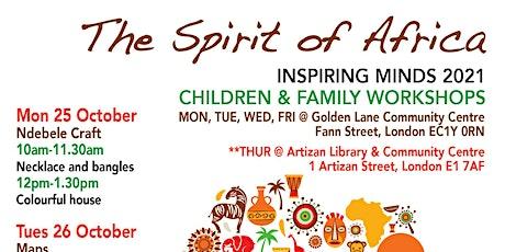 Inspiring Minds - Family Workshops tickets