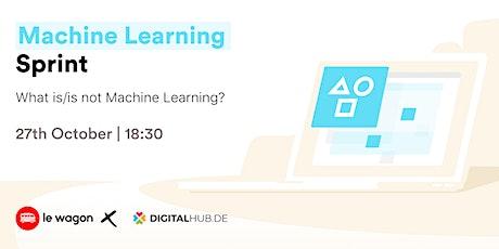 [Free] Workshop | Machine Learning Sprint - Le Wagon / Digital Hub Tickets