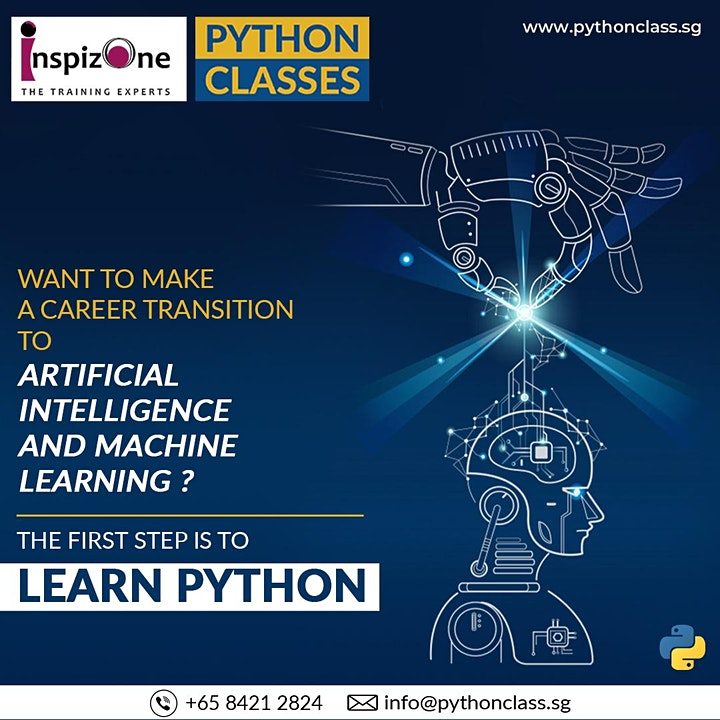 Best Machine Learning Python Course Singapore - Python Classes image