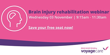 Brain injury rehabilitation webinar 2021 tickets