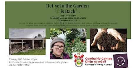 ReUse in the Garden tickets