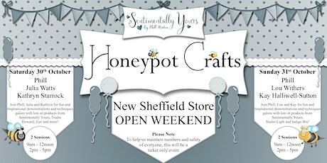 New Honeypot Crafts Sheffield Store Open Weekend Event tickets