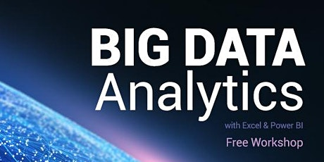 免費 - Big Data Analytics with Excel Workshop (Cantonese Speaker) tickets