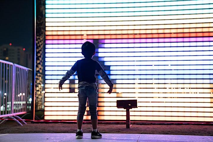 Afbeelding van Light ART - begeleide wandeling met gids