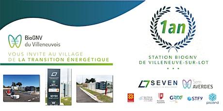 1er anniversaire de la station BioGNV de Villeneuve sur lot -10 Nov 2021 billets