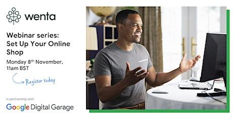 Set Up Your Online Shop with Google Digital Garage Tickets