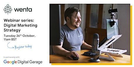 Digital Marketing Strategy with Google Digital Garage tickets