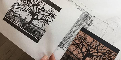 Linocut Printmaking Workshop with Helen Murgatroyd tickets