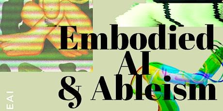 DEI4EAI Workshop: Embodied AI & Ableism tickets