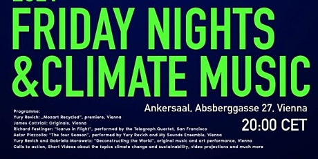 Friday Nights and Climate Music Tickets