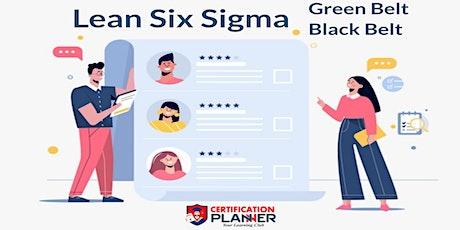 Dual Lean Six Sigma Green & Black Belt Training Program in Boston tickets