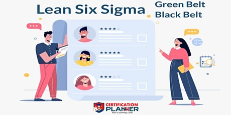 Dual Lean Six Sigma Green & Black Belt Training Program in Jackson tickets
