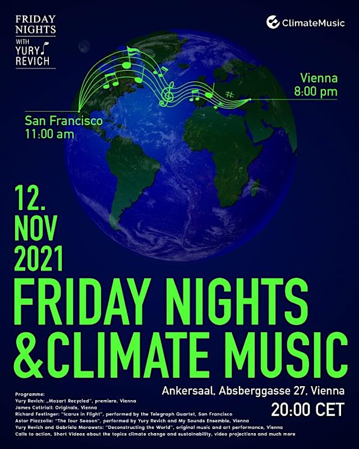 Friday Nights and Climate Music: Bild