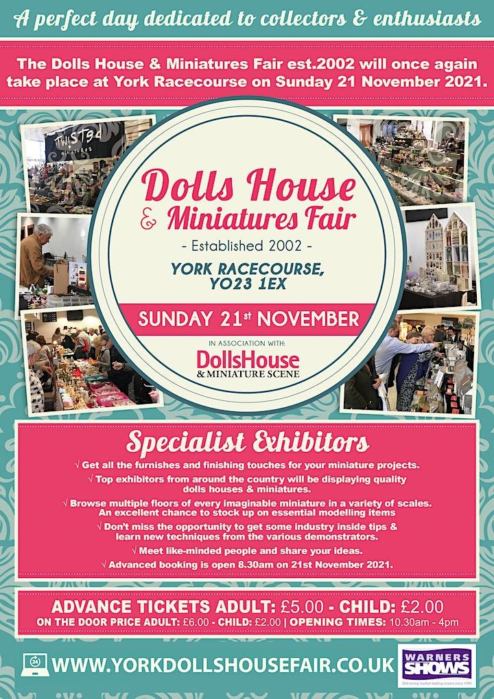York Dolls House & Miniatures Fair-Winter image