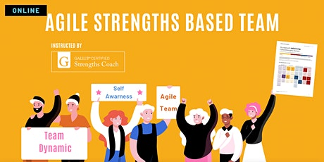 Agile Strengths Based Team (Clifton StrengthsFinder assessment 34-Theme) tickets