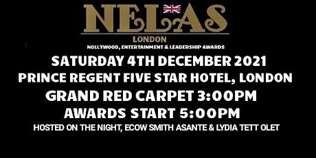 NELAS Awards 2021, 4TH DEC: live at Prince Regent five star Hotel, London tickets