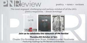 PN Review Re-Launch Party
