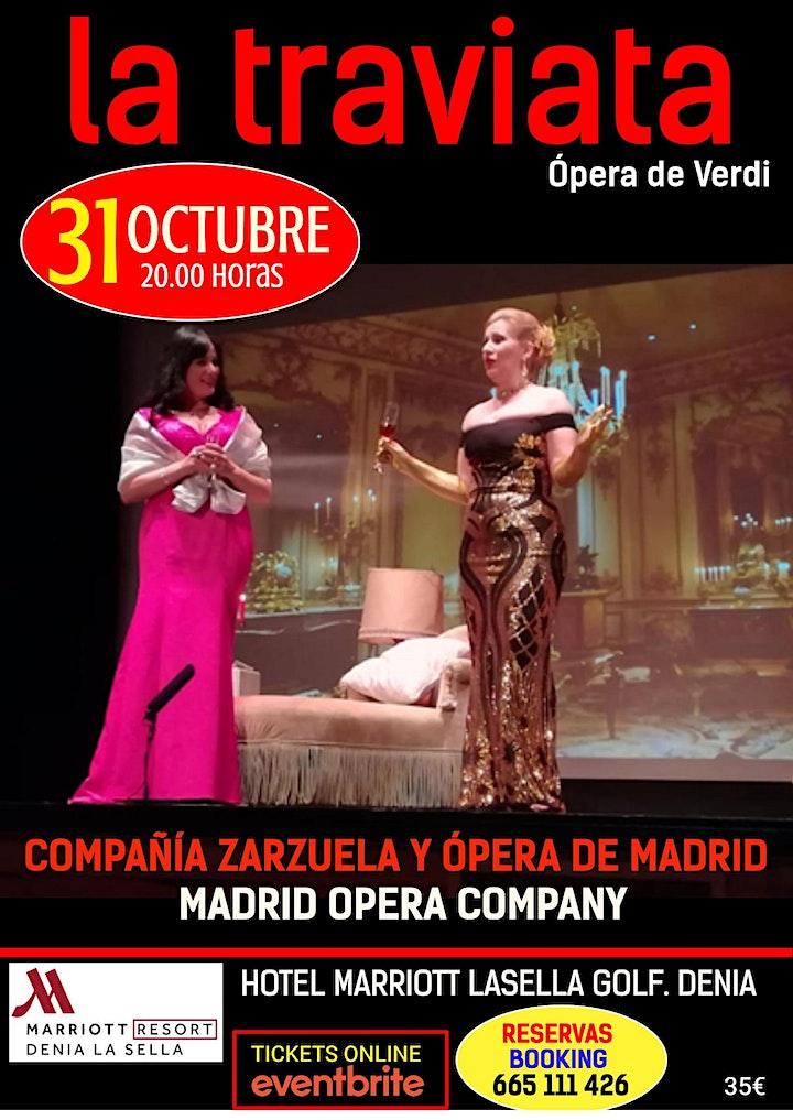 Imagen de LA TRAVIATA. ÓPERA DE VERDI. HOTEL MARRIOTT LASELLA GOLF