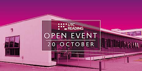 UTC Reading Open Evening  - Wednesday 20 October 2021 tickets
